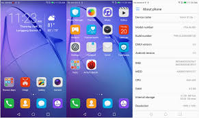 huawei honor 8. huawei honor 8 lite screenshots: