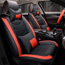 lcrtds car seat cover leather