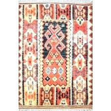 home depot rugs blue and orange geometric rug area rugs the home depot rust compressed pink