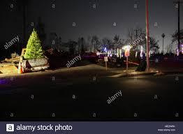 Fema Lights Santa Rosa Calif A Former Coffey Park Resident