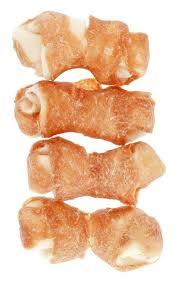 Hühnerknochen Für Hunde 100 Natürlich Mit Flachknoten 4 Stück à 65cm