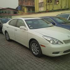 2004 Model Lexus Es330 White Full Option For sale