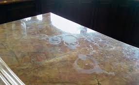 marble countertop before