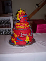 Smart Mama Cakes Firefighter Grooms Cake