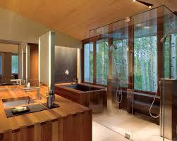 Japanese Bathrooms Design Traditional Japanese Bathroom Interior Design With Transparent