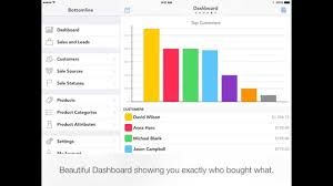 Sales Tracker App Bottomline A Simple Sales Tracking App For Iphone Ipad