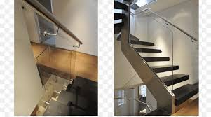 stairs handrail glass baer stainless steel staircase
