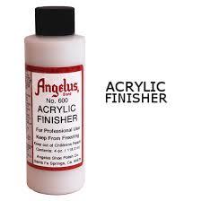 angelus gloss acrylic finisher leather dye
