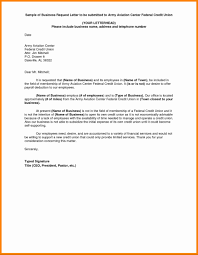 Formal Letter To A Company Example Writing Template