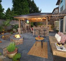 outdoor fireplace grill elegant covered outdoor patio kitchen open outdoor living room with curved