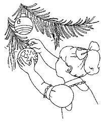 Advent Kleurplaten Kerstbal
