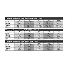 Tommy Bahama Size Chart Tommy Bahama Mens Indigo Vines