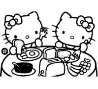 Choose your favorite coloring page and color it in bright colors. Hello Kitty Mermaid 2 Coloring Pages Cartoons Coloring Pages Free Printable Coloring Pages Online
