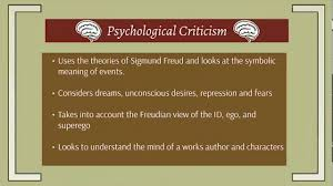 Psychological Criticism Psychological Criticism The Tell Tale Heart Youtube