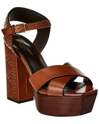 saint lau farrah studded 105 leather platform sandal