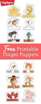 Animal Finger Puppets School Counseling Ideas Finger