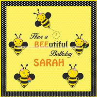 Bee Themed Birthday Chart Bumble Bee Theme Birthday Party Supplies Untumble