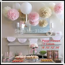 Party Decorations Tissue Paper Balls DIY 100 inch 100 cm Decorative Tissue Paper Pom Poms Flower Balls 13
