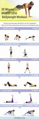 20 minute weight loss bodyweight workout