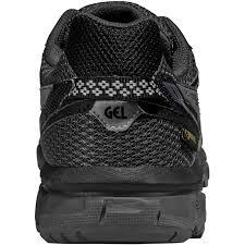 asics gel sonoma gtx mens running shoes black back