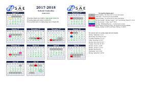 Sample School Calendar YearRound School Calendar The SAE School In Mableton GA 16
