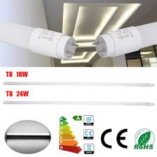 Slimline Fluro Lights 2 10x1200mm 4ft T8 G13 Led Tube Fluorescent Light 18 24 36w Batten Linear Lamp