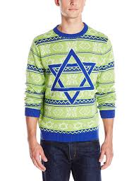 Alex Stevens Men's Hannukah Nights Ugly Holiday Sweater at Amazon ...