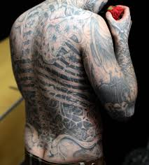 Rick Genest Tattoos How Many Did He Have What Were They Of And