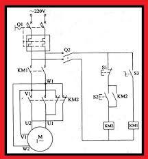 single phase motor controlled circuit elec eng world how do you reverse a single phase motor at Single Phase Motor Forward Reverse Wiring Diagram