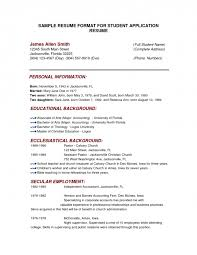 Resume Template Resume For College Application Template Stunning College Admission Resume