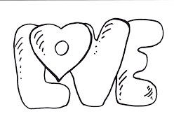 Small Picture Coloring Pages Of The Word Love About Webonize Pinterest