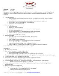 Accounting Job Responsibilities For Resume Corporate Accountant Job Description Template Accounts Payable 2