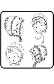 Baby Bonnet Pattern Enchanting 48 New Baby Bonnet Patterns DIY Pinterest Baby Bonnets Sewing