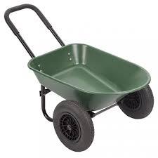 new flat free yard rover wheelbarrow 2 tire wheelbarrow garden cart