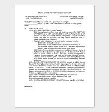 Venue Contract Template Event Contract Template 19 Samples Examples In Word
