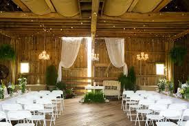 elegant barn wedding