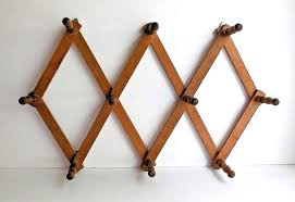 accordion wall rack five favorite wooden accordion peg racks a vintage accordion rack via from accordion wall rack