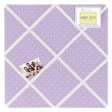 Purple Memo Board Inspiration Sweet Jojo Designs Purple And White Mini Polka Dot Print Memo Board