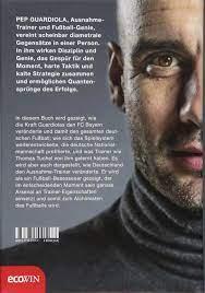Pep Guardiola - Das Deutschland-Tagebuch: Perarnau, Martí: 9783711001177:  Amazon.com: Books