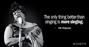 Image result for Free quote from Ella Fitzgerald