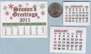 Cathys Craft Room 2015 Mini Calendars Have Arrived
