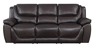 mstar sad top grain leather match 3 seat lay flat dual power reclining sofa with usb