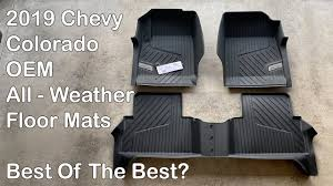 chevy colorado zr2 oem all weather mats