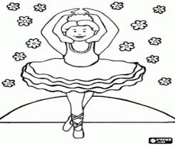Kleurplaten Ballet En Gymnastiek Kleurplaat