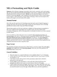 mla formatting and style guide citation note typography