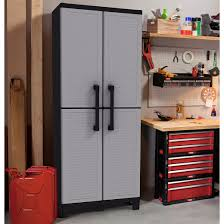 Resin Utility Cabinet Keter Space Winner 64 H X 27 W X 15 D Tall Utility Storage