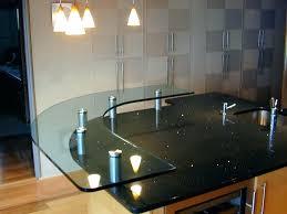bar top supports glass bar top low iron glass raised bar top glass bar top supports