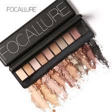 focallure palette natural eye makeup light ten colors eye shadow