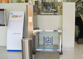 Mobility Chair Lifts - Exterior wheelchair lifts