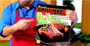 Summer Grilling As Seen TV Miracle Grill Mat Is It Worth Your